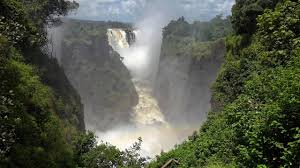 It is located on the border. Victoria Falls Mosi Oa Tunya Zambia Zimbabwe In 4k Ultra Hd Youtube