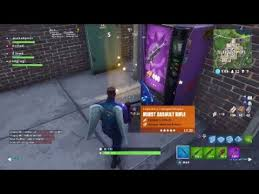 Vending Machine Cheat Delectable Fortnite Battle Royale Vending Machine Glitch PS48 YouTube