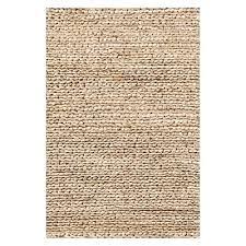 natural braided designer jute rug 152x243cm
