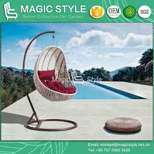 china outdoor wicker hammock with cushion patio wicker swing rattan weaving swing garden rattan hanging chair wicker weaving balcony swing china outdoor