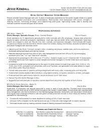 Retail Store Manager Sample Resume Interesting Wireless Store Manager Resume Resume For Retail Store 10