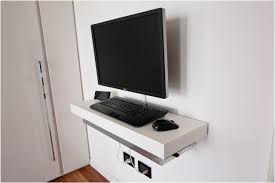 ... Mind Blowing Bedroom Design And Decoration With Wall Mounted Computer  Desk : Charming Furniture For Bedroom ...