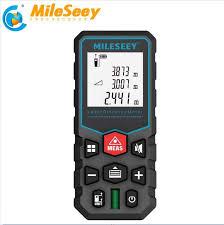 <b>Mileseey</b> Portable Laser Distance Meter <b>60M</b> Laser Rangefinder ...