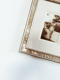 framing vintage photographs