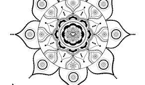 Bohemian Jewish Mandala Hippi Digital Print Boho Wall Décor
