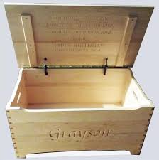 amish hard maple clear finish furniture shaker large dovetail toy box chest deluxe two safety hinges