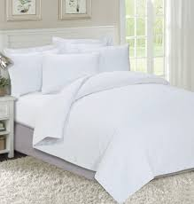 white bed sheets. Mrs. Whitica Satin 850 TPI 1 Fitted Bed Sheet \u0026 2 Pillow Covers White Sheets H