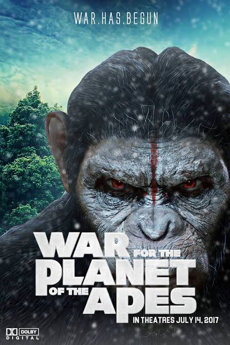 War for the Planet of the Apes 2017 Hindi Dual Audio 720p Web-DL