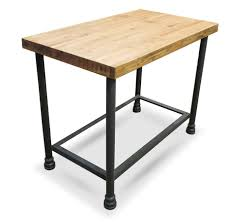 industrial counter height table. Various Reclaimed Wood Counter Height Dining Table Ideas : Fancy Wooden With Tube Steel Industrial