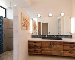 vintage bathroom lighting. modren lighting example of a midsized minimalist 34 porcelain tile and blue ceramic on vintage bathroom lighting l