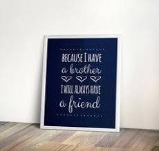 brothers quote instant download navy nursery brother printable art digital on brothers wall art quotes with brother quote brother canvas gift for by colorsandmorecolors wall