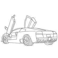Small Picture Lamborghini gallardo coloring pages Hellokidscom