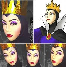 evil queen from disney s snow white makeup artist uses hijab
