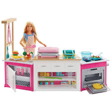 Barbie Ultimate Kitchen Playset with Barbie Chef Doll | FRH73 | Barbie