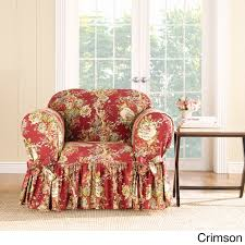 red sure fit slipcovers furniture covers find great home decor deals ping at overstock