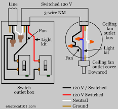 ceiling fan switch wiring electrical  ceiling fan switch wiring diagram