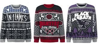 Metal Christmas sweaters - Metal Exposure