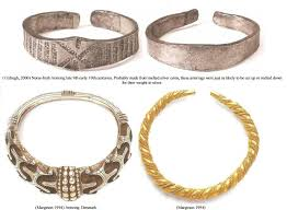 beautiful ancient viking jewelry made by skilled craftsmen