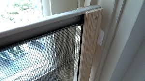wooden window screens wood window screen frames picture of attach to window frame making wood window