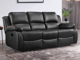 valencia black leather recliner 3