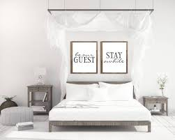 guest room decor wall posters bedroom