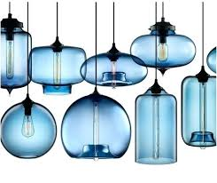 blue glass pendant light popular dining room decor extraordinary highlight industries limited vintage glass pendant light blue glass pendant