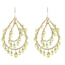 peridot chandelier earrings loading zoom
