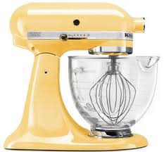 kitchenaid yellow mixer. image is loading kitchenaid-stand-mixer-with-glass-bowl-delux-artisan- kitchenaid yellow mixer