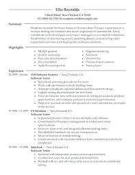 Agile Methodology Testing Resume Resume For Software Testing Software For Resumes Resume Software