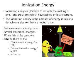 88 ionization energy ionization