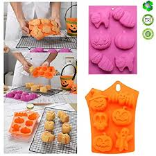 Buy <b>Halloween</b> Mould <b>Silicone Cake</b> Mould <b>Halloween</b> Model ...