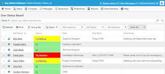 Employee Status In Out Board Software For Employee Status Tracking Officestatus