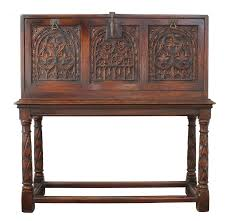 antique english drop front desk on chairish com
