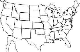 blank states map16 blank states map dr odd on printable map of the united states and estern canada