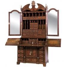 office furniture desk vintage chocolate varnished. Bureaux Office Furniture Desk Vintage Chocolate Varnished