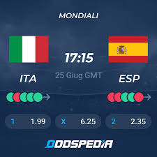 Italia v Spagna Risultati in Diretta e Streaming + Quote
