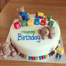 1 Year Birthday Cake Design First Birthday Cake Ideas For Boys Cake Is Edible And Made