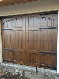Garage Door wood garage doors photographs : Lafayette - Spanish Style Custom Wood Garage Door – Lux Garage Doors