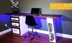 build your own home office. Build Your Own Computer Desk Plans Top Preeminent Corner Simple Writing Long Table Office Chair Home