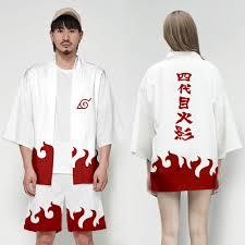 Anime Naruto Yondaime Hokage Kimono Nhật Bản Nam Cardigan Áo Sơ Mi Áo  Yukata Áo Haori Obi Quần Áo Samurai Trang Phục Hóa Trang|Quần Áo Châu Á &  QĐThái Bình Dương