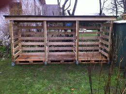 diy pallet wood shed more