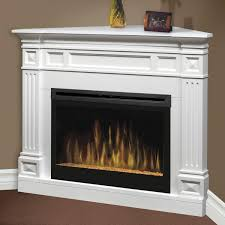 electric log heater for fireplace. Dimplex Traditional 52 Inch Corner Electric Fireplace With Glass Log Heater For