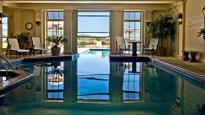 Outdoor and Indoor Swimming Pool