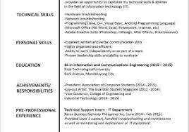 Resume Format For Graduate Students Download Good Sample Resume New ...
