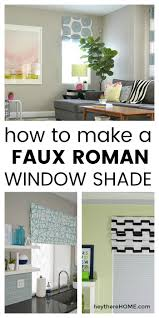 faux roman shade. Dress Up Your Windows With A Faux Roman Shade. Click Through For The Full Tutorial Shade Y