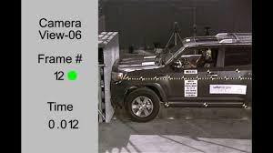 Toyota 4Runner | 2012 | Frontal Crash Test | NHTSA | CrashNet1 HD ...