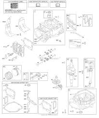 Briggs and stratton 124l05 0128 f1 parts diagram for camshaft