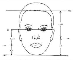 The golden ratio is also found in our face. If the distance between the  top of our head and our shoulder line equals one, the distance between the  top of ...