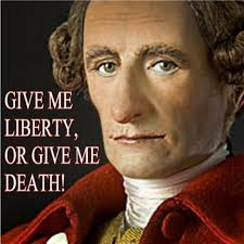 "「Stamp Act opponent Patrick Henry is known for his ""Give me liberty, or give me death!"" speech」の画像検索結果"
