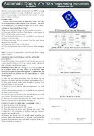 how to program a craftsman garage door opener keypad troubleshooting programming